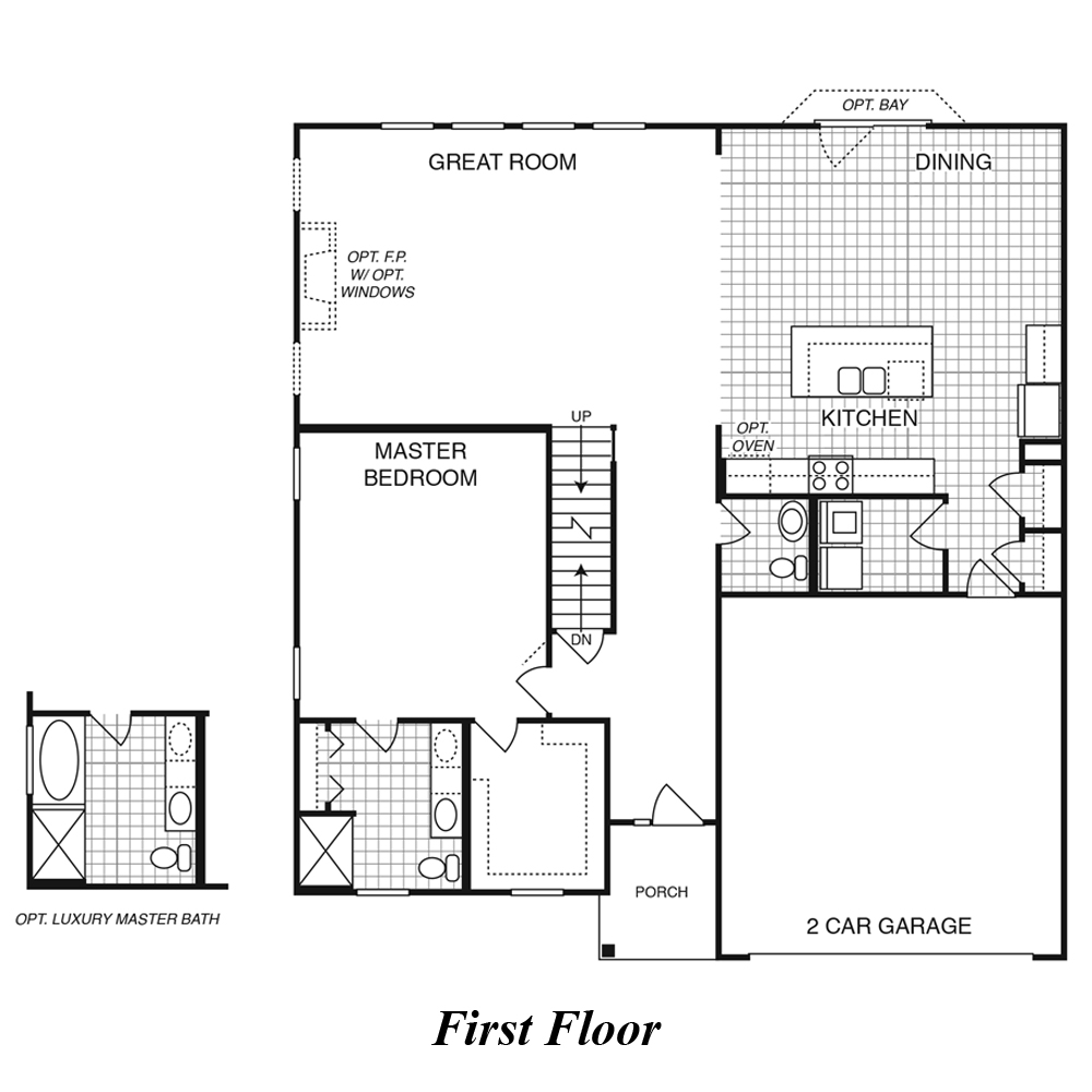 New Home Builders In Greater St Louis Mo Sienna 2 Story