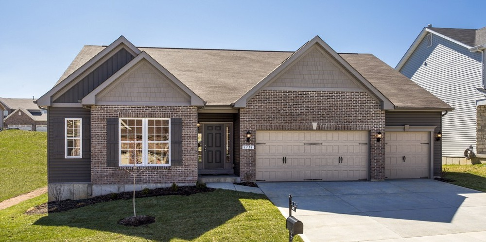 Home builders wentzville mo heritage pointe rolwes for Home builders missouri
