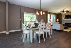 Dining Area of a St. Louis Builders Model Home