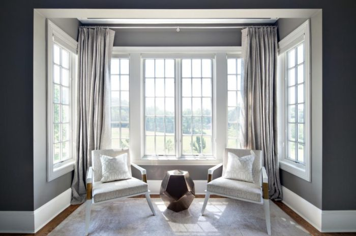 Claire Paquin Designed overlook master sitting room window - photo by Donna Dotan