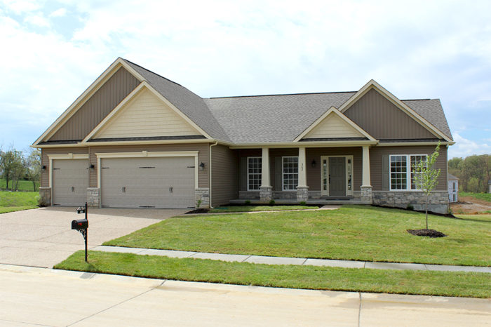 Wentzville, MO New Home - The Charleston
