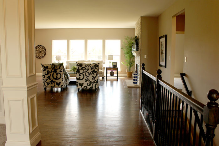 Foyer View of the Wentzville Charleston