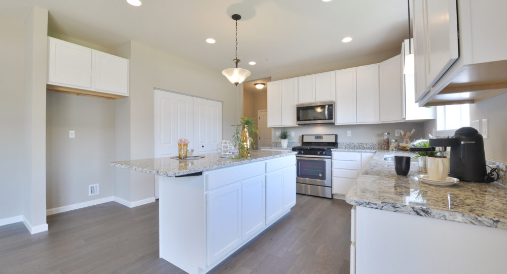 Kitchen Island and Pantry